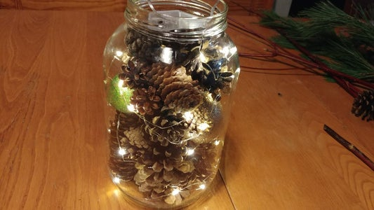 Finishing Your Pine Cones