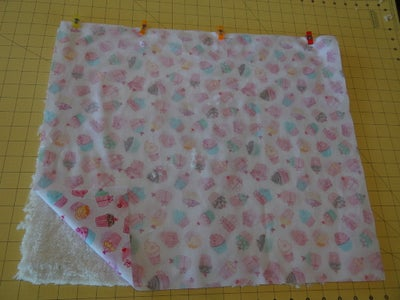 Sew Lining to Outer Fabric