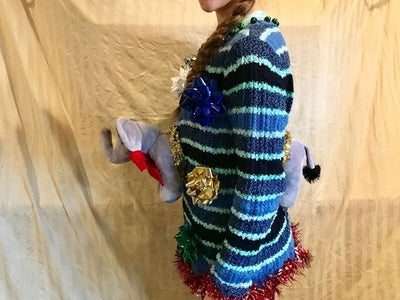 Breakthrough Stuffed Animal Ugly Sweater