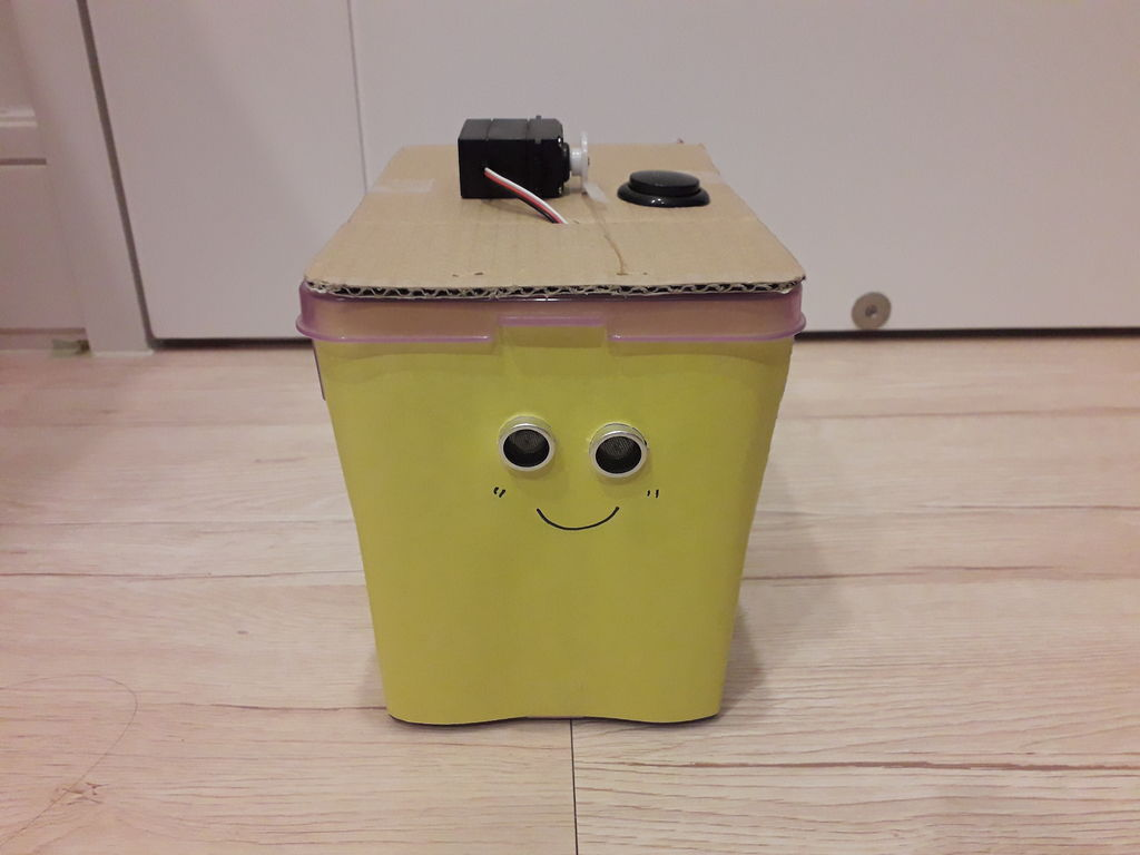 Picture of Arduino Smart Trashcan