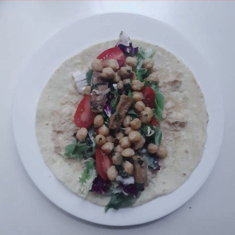 Picture of Meal Prep 2: Lunch - Tofu Wrap
