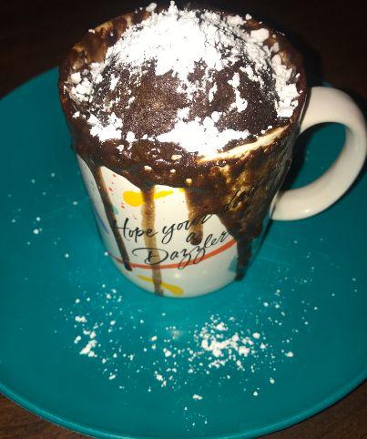 Picture of Garnish Your Mug Cake!