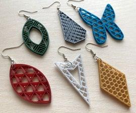 3D Print Infill Jewelry