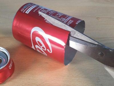 Prepare the Aluminium Cans