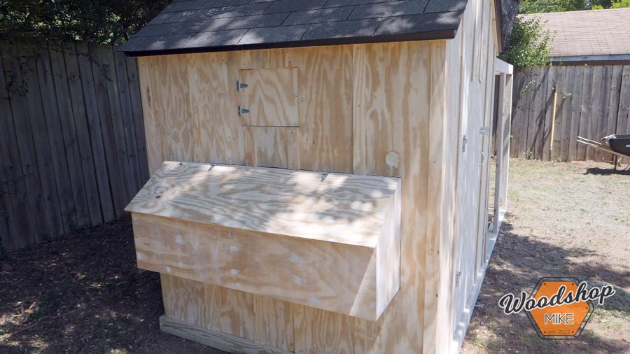 Picture of Build Chicken Coop Nesting Box