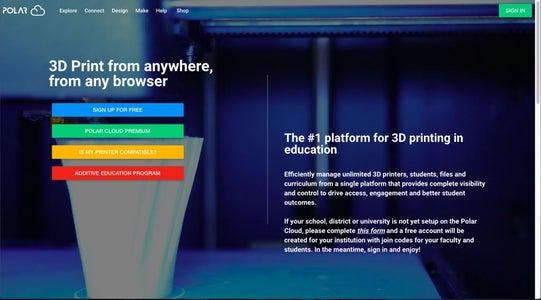 Create a Polar 3D Account