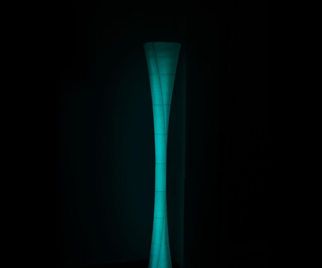 3d Printed Floor Lamp From Parametric Design