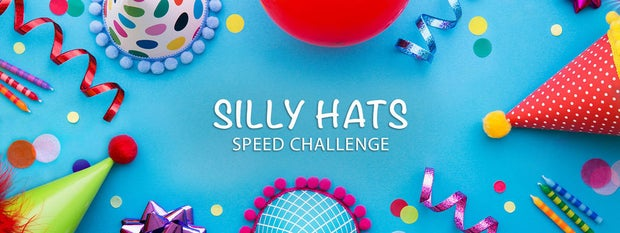 滑稽的帽子速度挑战赛