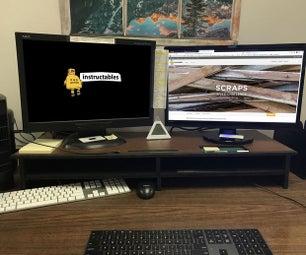桌面组织者-显示器立场