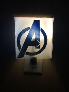 Glowing Marvel Night Light