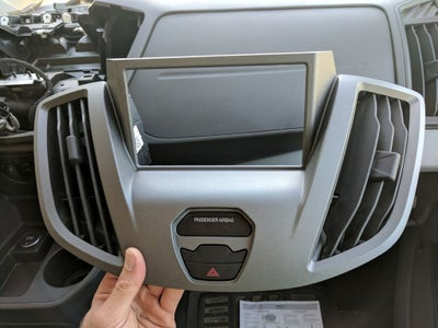 Snap the Airbag & Hazard Into the New Metra Panel