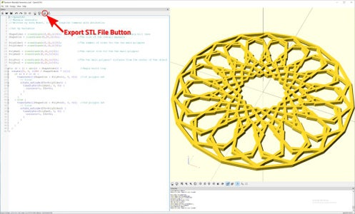 Export File for 3D Printing