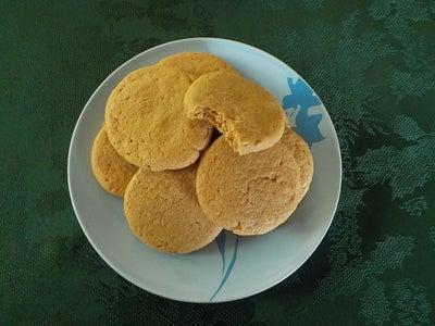 Grain Free Peanut Butter Cookies