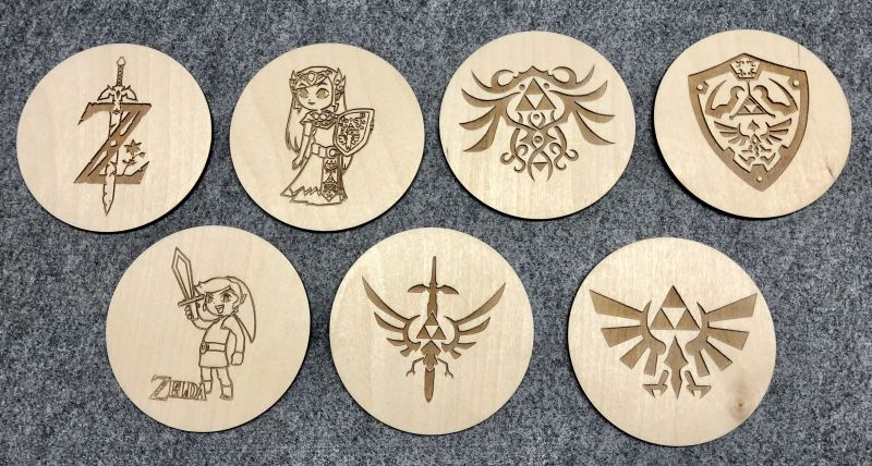 Picture of Laser Cutting and Sanding