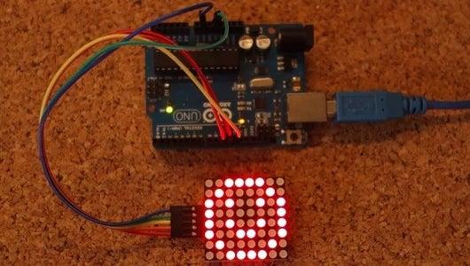 Arduino Max7219 Led Matrix Display Tutorial