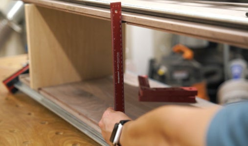 Cut Partitions to Size + Joinery