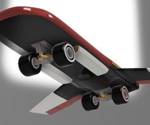 Contour-chasing Skateboard