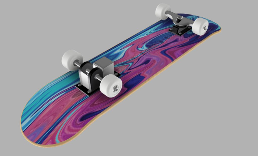 Picture of My Skateboard