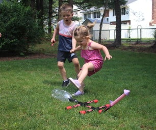 DIY Paper Stomp Rockets