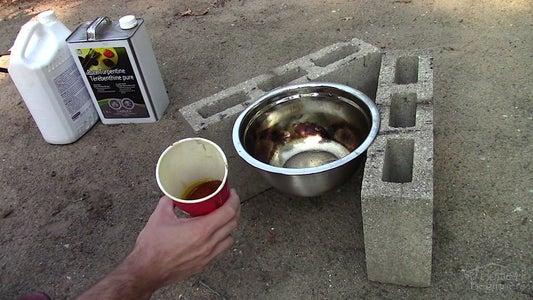 Preparing the Linseed Oil