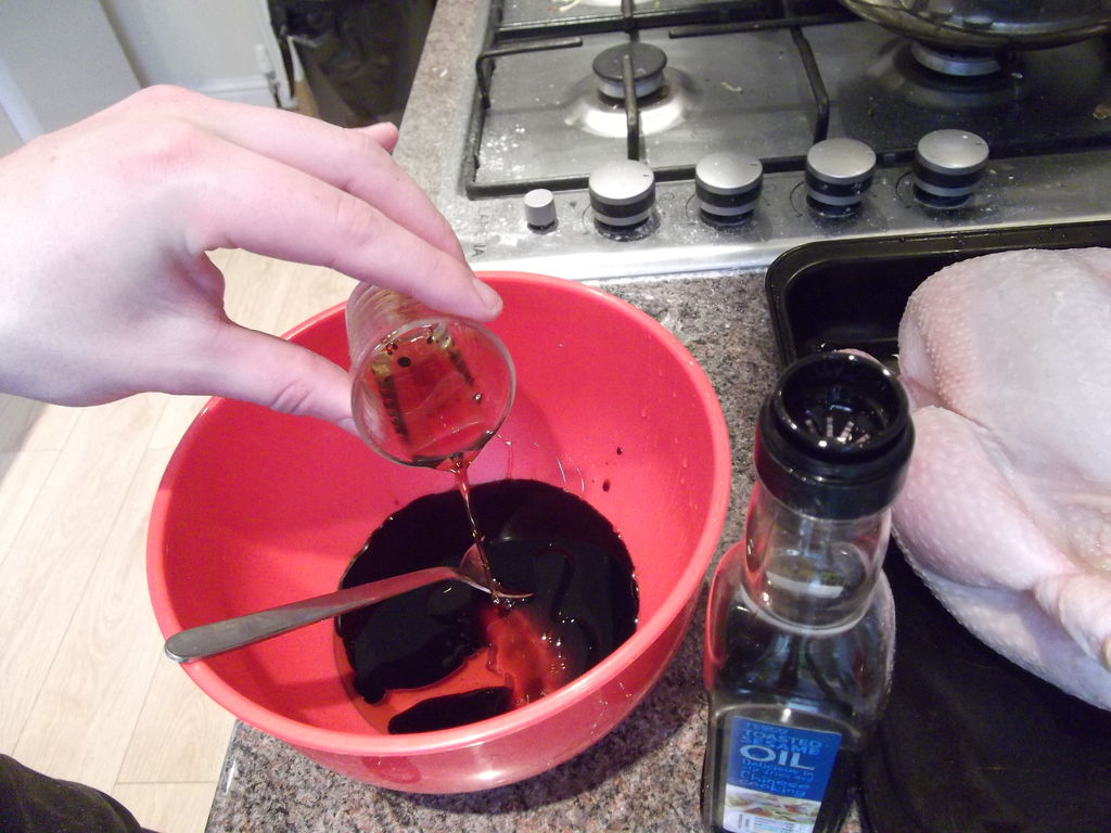 Picture of Preparing the Glaze