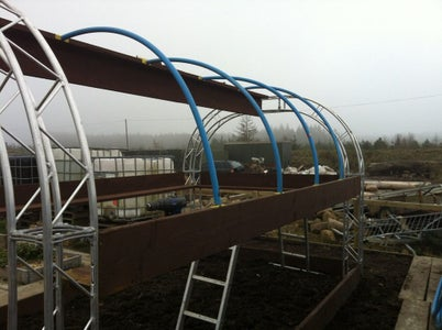 STEP 2 - Creating the Polypipe Arches