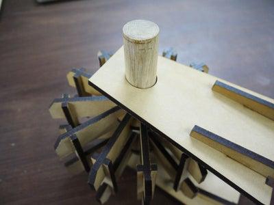Step 12: Assemble Parts / Wheel (5)