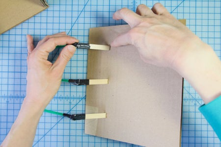 Build the Box: Connect the Hinges to the Box