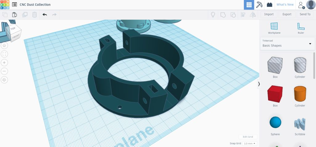 Picture of Designing / Tinkercad