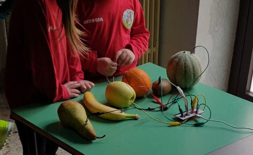 Picture of Fruits & Makey Makey