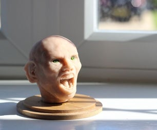 Sculpting a Character With Realistic Eyes.