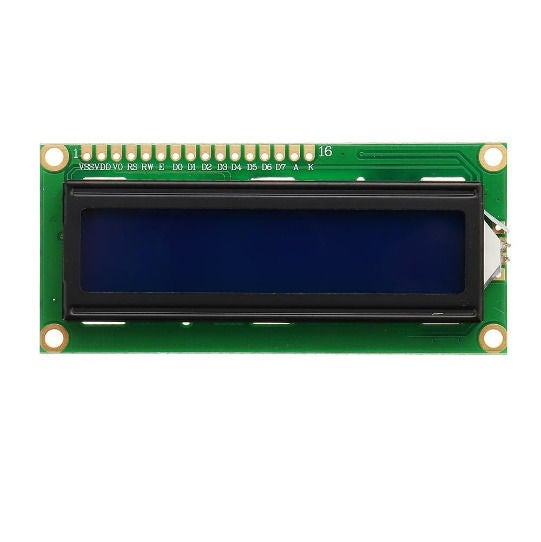 Picture of LCD (Liquid Crystal Display)