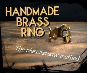 泡铜环,冲孔锯法- 6步