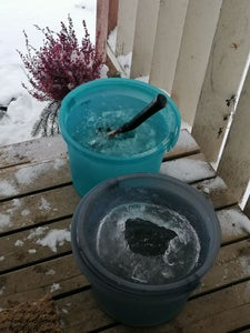 Removing Water From Ice Hull