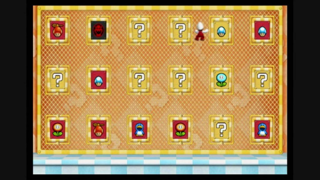 Picture of Super Mario Find the Pair Game Board (Memory Match Game Board)