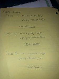 Work-Energy Equation
