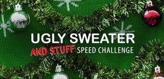丑陋的毛衣速度挑战赛