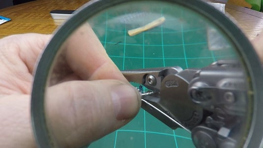 Trim Before Liquid Plastic Welding