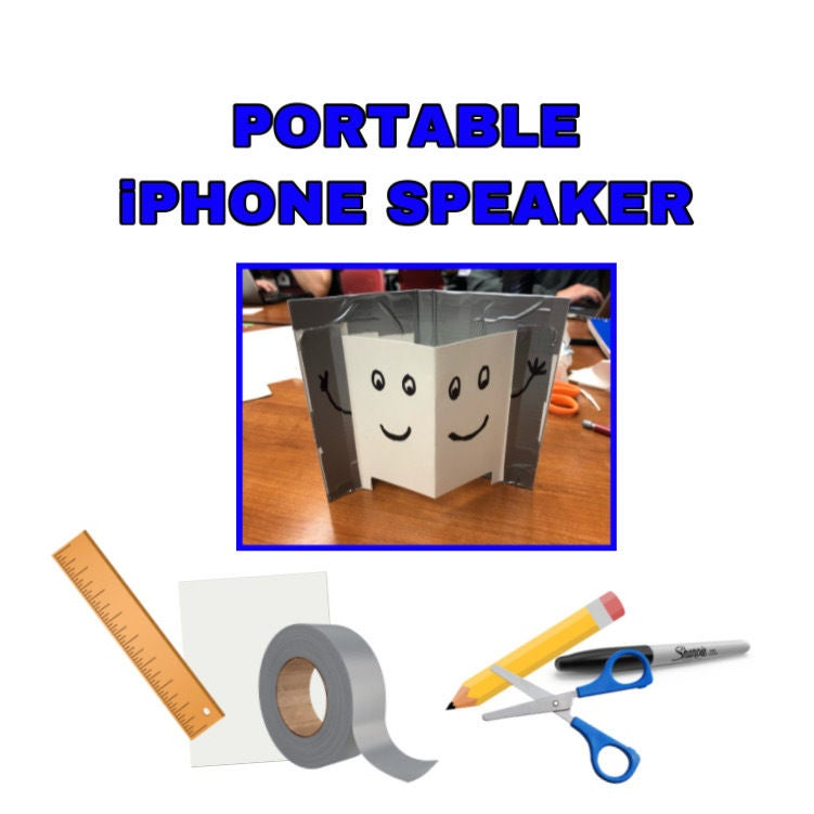 Picture of IPhone Portable Speaker