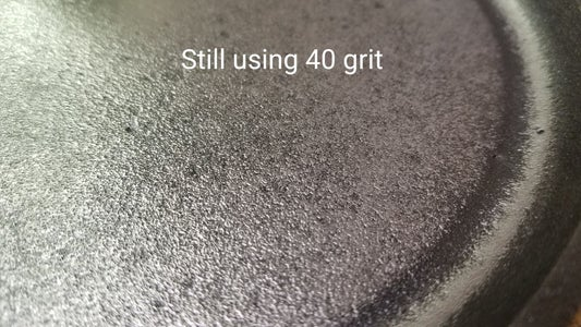 Keep Sanding With the 40 Grit