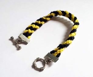 Braided Crochet Bracelet