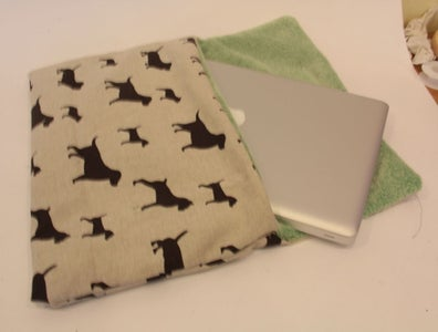 Easy to Make Laptop Sleeve