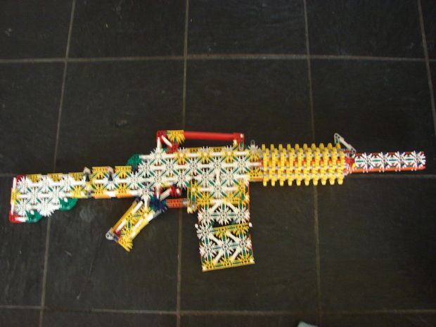 Picture of knex m4 carbine