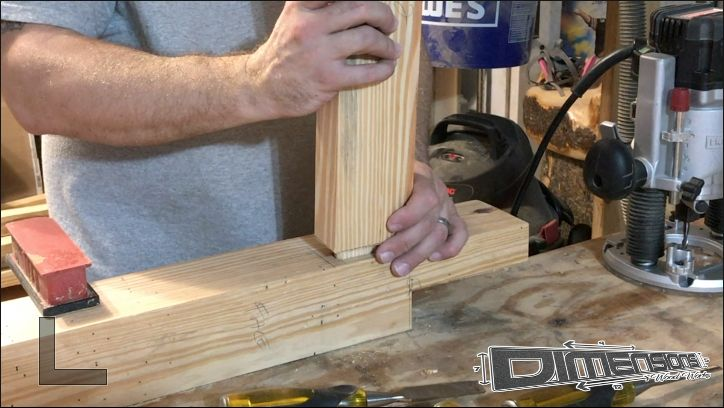 Picture of Cut All the Mortise and Tennon Joints