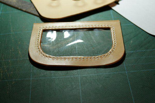 Picture of Sew Plastic Film on Photo Slot.