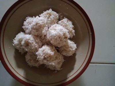 Boiled Rice Cake