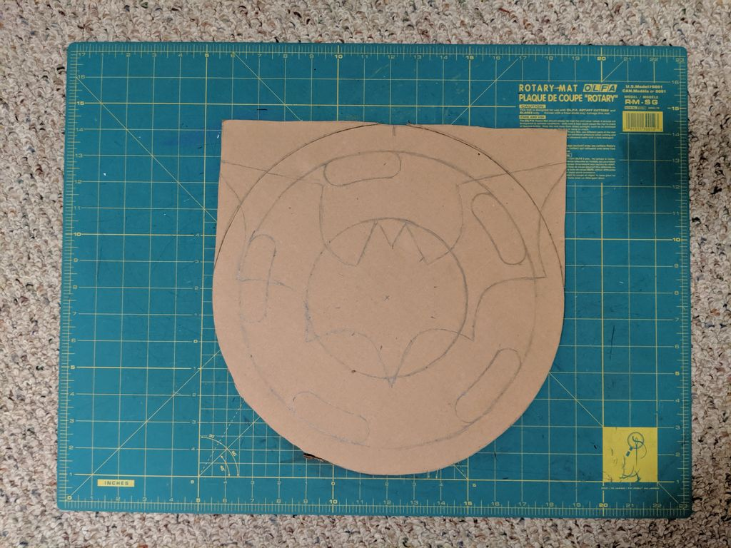 Picture of Chest-piece: Template