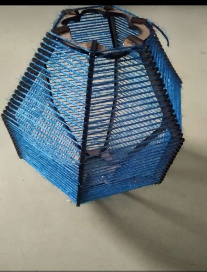 Picture of Diwali Lantern Using Laser Cutter