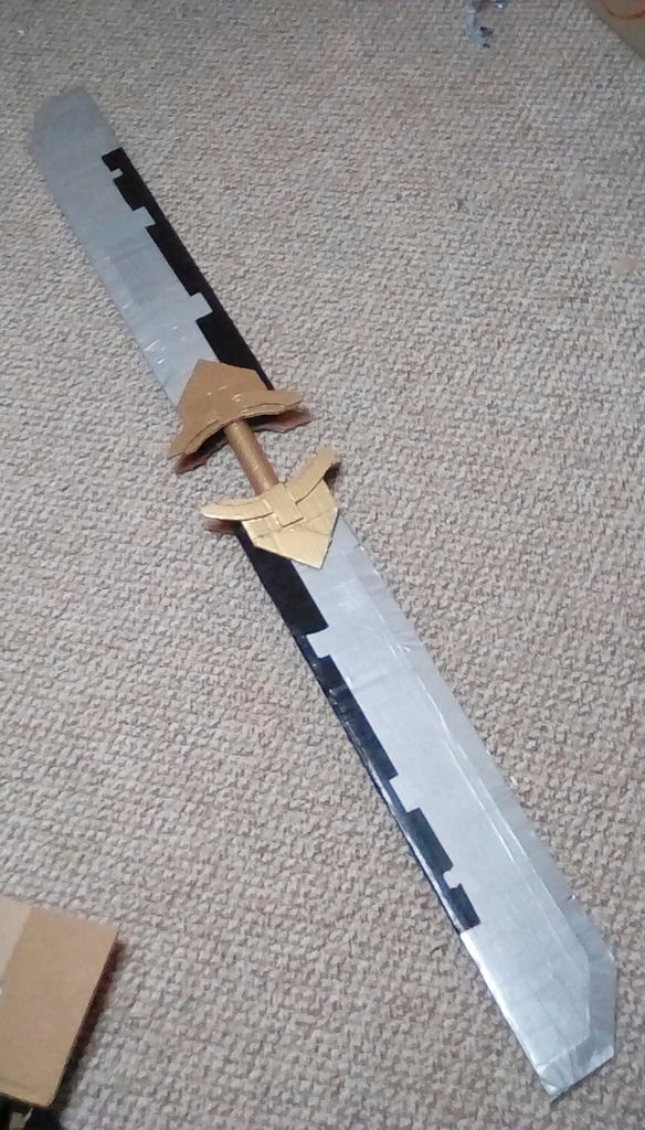 Picture of Cardboard Thanos Sword