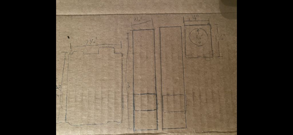 Picture of Cut Out Cardboard Pieces